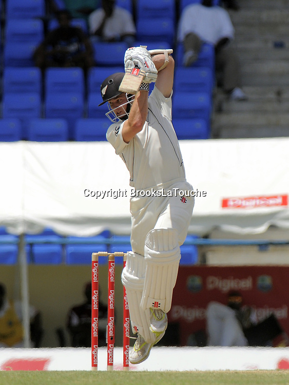 Kane Williamson, Day 2 of the first test West Indies v New Zealand at Sir Vivian Richards Stadium, Antigua, 26 July 2012. Photo: Randy Brooks/photosport.co.nz