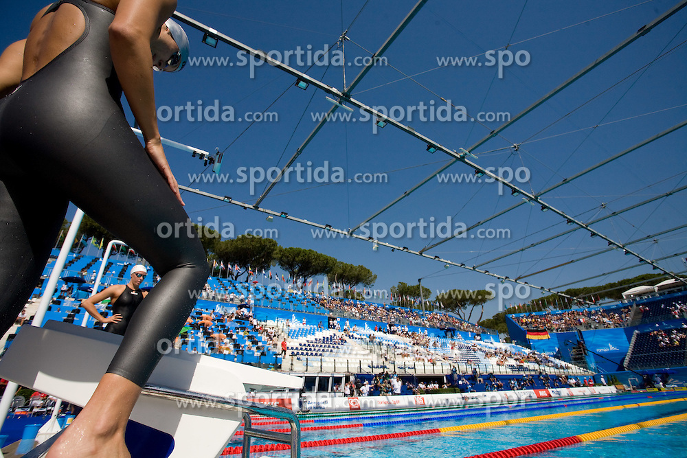 Sara Isakovic of Slovenia competes in the Women's 200m Freestyle Heats during the 13th FINA World Championships Roma 2009, on July 28, 2009, at the Stadio del Nuoto,  in Foro Italico, Rome, Italy. (Photo by Vid Ponikvar / Sportida)
