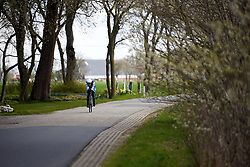 Anna Plichta (POL) at Healthy Ageing Tour 2019 - Stage 4A, a 14.4km individual time trial starting and finishing in Winsum, Netherlands on April 13, 2019. Photo by Sean Robinson/velofocus.com