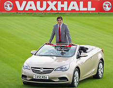 130807 Wales Squad Announcement & Vauxhall