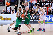 DESCRIZIONE : Trento Lega A 2015-2016 Dolomiti Energia Trentino Sidigas Avellino <br /> GIOCATORE : James Nunnally Maarten Leunen<br /> CATEGORIA : controcampo palleggio penetrazione blocco<br /> SQUADRA : Sidigas Avellino<br /> EVENTO : Campionato Lega A 2015-2016<br /> GARA : Dolomiti Energia Trentino Sidigas Avellino <br /> DATA : 13/02/2016<br /> SPORT : Pallacanestro<br /> AUTORE : Agenzia Ciamillo-Castoria/Max.Ceretti<br /> GALLERIA : Lega Basket A 2014-2015<br /> FOTONOTIZIA : Trento Lega A 2015-2016 Dolomiti Energia Trentino Sidigas Avellino <br /> PREDEFINITA :