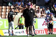 04.07.2010, Sonera Stadion, Helsinki..Pes?pallon It? - L?nsi..Pelinjohtaja Risto Ojanper? - L?nsi.©Juha Tamminen.