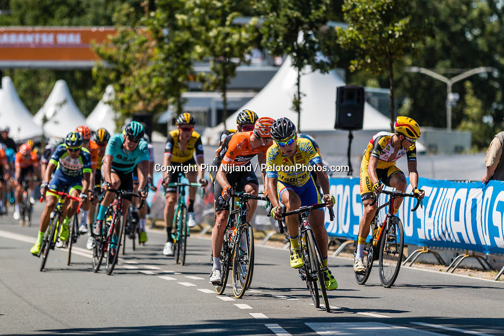 Peloton at 2018 National Road Race Championships Netherlands for Men Elite, Hoogerheide, The Netherlands, 1 July 2018. Photo by Pim Nijland / PelotonPhotos.com | All photos usage must carry mandatory copyright credit (Peloton Photos | Pim Nijland)