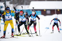 March 10, 2019 - –Stersund, Sweden - 190310 Alexander Loginov of Russia during the Women's 10 km Pursuit during the IBU World Championships Biathlon on March 10, 2019 in Östersund..Photo: Petter Arvidson / BILDBYRÃ…N / kod PA / 92254 (Credit Image: © Petter Arvidson/Bildbyran via ZUMA Press)