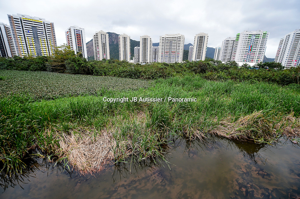 Olympic Village which house the athletes - and Wasteland Sewers<br /> Photo: panoramic / www.photosport.nz