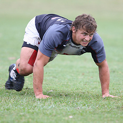 DURBAN, SOUTH AFRICA - OCTOBER 04, Patrick Lambie during the Sharks training session at Absa Stadium on October 04, 2010 in Durban, South Africa.<br /> Photo by Steve Haag / Gallo Images