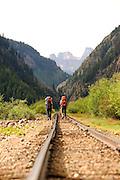 Backpacking the Grenadier Range near Silverton, Colorado.