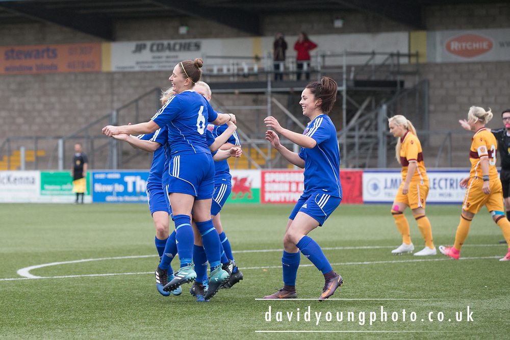 06/10/2017 - Forfar Farmington v Motherwell Ladies in SWPL2 at Station Park, Forfar: