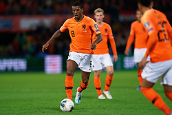 10-10-2019 NED: Netherlands - Northern Ireland, Rotterdam<br /> UEFA Qualifying round ­Group C match between Netherlands and Northern Ireland at De Kuip in Rotterdam / Georginio Wijnaldum #8 of the Netherlands