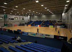 General view of the Ellesmere Port Arena before the match - Photo mandatory by-line: Jack Phillips/JMP - 25/11/2018 - BASKETBALL - Ellesmere Port Arena - Ellesmere Port, England - Cheshire Phoenix v Bristol Flyers - BBL