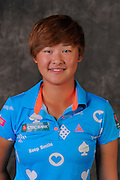 Min Lee during portrait session prior to the second stage of LPGA Qualifying School at the Plantation Golf and Country Club on Oct. 6, 2013 in Vience, Florida. <br /> <br /> <br /> ©2013 Scott A. Miller