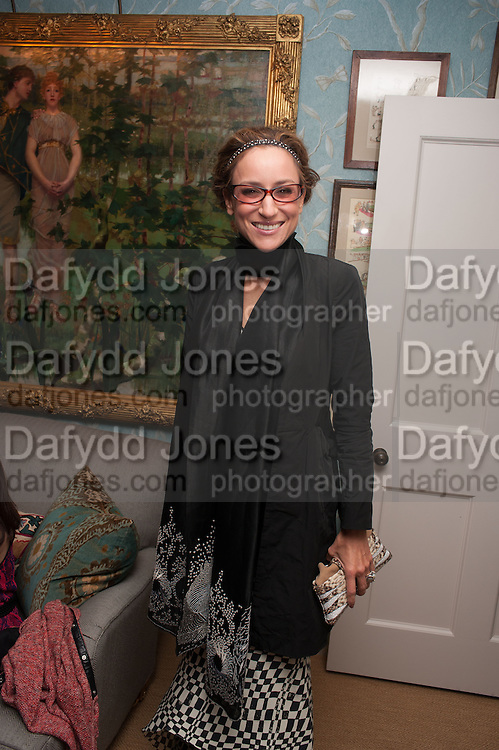 REBECCA KORNER, Dinner to celebrate the opening of Pace London at  members club 6 Burlington Gdns. The dinner followed the Private View of the exhibition Rothko/Sugimoto: Dark Paintings and Seascapes.