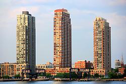 USA NEW YORK JUN10 - Skyline view of Long Island City, Housing Projects, New York...jre/Photo by Jiri Rezac..© Jiri Rezac 2010
