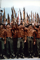Sandinista soldiers - Nicaragua - photograph by Owen Franken