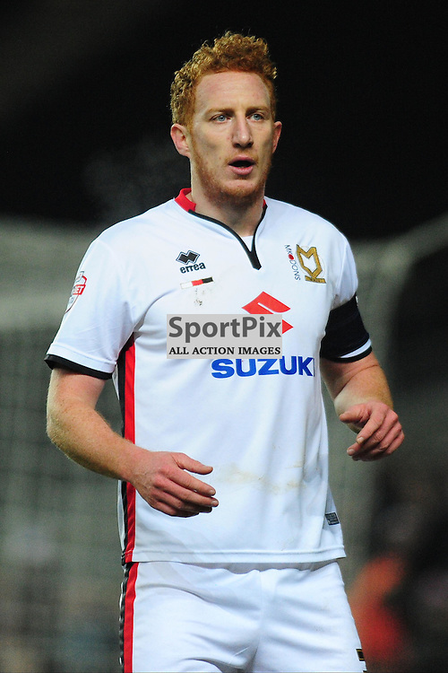 DEAN LEWINGTON MK DONS,  Dons v Northampton Town, FA Cup Emirates FA Cup Third round Repay, Stadium MK, Tuesday 19th January 2016