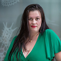 Nederland, Amsterdam, 24 augustus 2017.<br />Annabel Nanninga is freelance verslaggever, opiniemaker en columnist voor onder andere ThePostOnline, RTL Z, Powned en Veronica Magazine.<br /> <br /> Foto: Jean-Pierre Jans