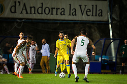 Mario Lucas Horvat of NK Domzale during football match between NK Domzale and FC Lusitanos Andorra in second leg of UEFA Europa league qualifications on July 7, 2016 in Andorra la Vella, Andorra. Photo by Ziga Zupan / Sportida