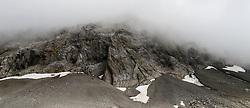July 2012 Swiss Alps, Berner Oberland, Region between Lauenen Gstaad and Lenk. On the way between Geltenhütten and Wildhorn Hütte.