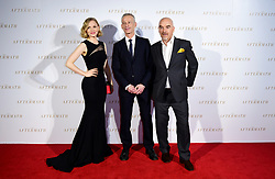 Kate Phillips, James Kent and Rhidian Brook attending the world premiere of The Aftermath, held at the Picturehouse Central Cinema, London
