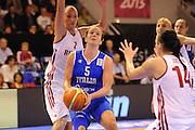 Vannes 17 Giugno 2013 <br /> Eurobasket Women 2013<br /> Italia - Russia<br /> Nella foto: martina fassina<br /> Foto Ciamillo