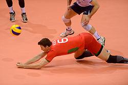 20150619 NED: World League Nederland - Portugal, Groningen<br /> De Nederlandse volleyballers hebben in de World League ook hun eerste duel met Portugal met 3-0 gewonnen / Alexandre Fereira