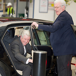 Tony Hall , the new Director General of the BBC arriving at Broadcasting House in London, Thursday, 22nd November 2012.  Photo by: i-Images