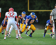 Oxford High's Colton Skidmore (68) vs. Jackson Prep in Oxford, Miss. on Friday, August 23, 2013. Oxford won 32-20.
