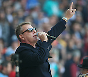 Madness played the pre game entertainment during the Kansas City Chiefs v Detroit Lions  NFL International Series match at Wembley Stadium, London, England on 1 November 2015. Photo by Matthew Redman.