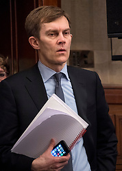 © Licensed to London News Pictures. FILE PICTURE: 14/04/2016. London, UK. Seumas Milne, advisor to Jeremy Corbyn   attends a speech by the leader of the Labour Party, arguing the case for Britain remaining in Europe, at Senate House in London.  A BBC Panorama documentary, focusing on alleged anti semitism in the Labour Party is due to run this evening. Photo credit: Ben Cawthra/LNP