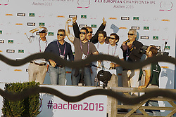 Alvarez Moya Sergio, (ESP), Carlo 273<br /> Individual competition round 3 and Final Team<br /> European Championships - Aachen 2015<br /> © Hippo Foto - Dirk Caremans<br /> 21/08/15