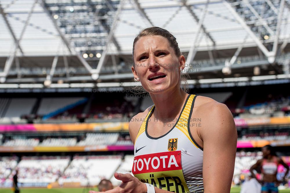 06-08-2017 IAAF World Championships Athletics day 3, London<br /> Carolin Schafer GER