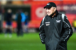 Scarlets' Head Coach Wayne Pivac<br /> <br /> Photographer Craig Thomas/Replay Images<br /> <br /> Guinness PRO14 Round 17 - Scarlets v Leinster - Friday 9th March 2018 - Parc Y Scarlets - Llanelli<br /> <br /> World Copyright © Replay Images . All rights reserved. info@replayimages.co.uk - http://replayimages.co.uk