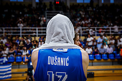 Dusanic Maj of Slovenia after the basketball match between National teams of Turkey and Slovenia in the SemiFinal of FIBA U18 European Championship 2019, on August 3, 2019 in Nea Ionia Hall, Volos, Greece. Photo by Vid Ponikvar / Sportida