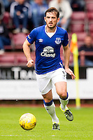 Everton's Leighton Baines during the pre-season friendly at Tynecastle Stadium, Edinburgh.