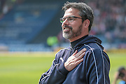 David Wagner (Huddersfield Town) before the Sky Bet Championship match between Huddersfield Town and Brentford at the John Smiths Stadium, Huddersfield, England on 7 May 2016. Photo by Mark P Doherty.