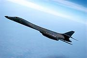 air-to-air of B-1B Bomber