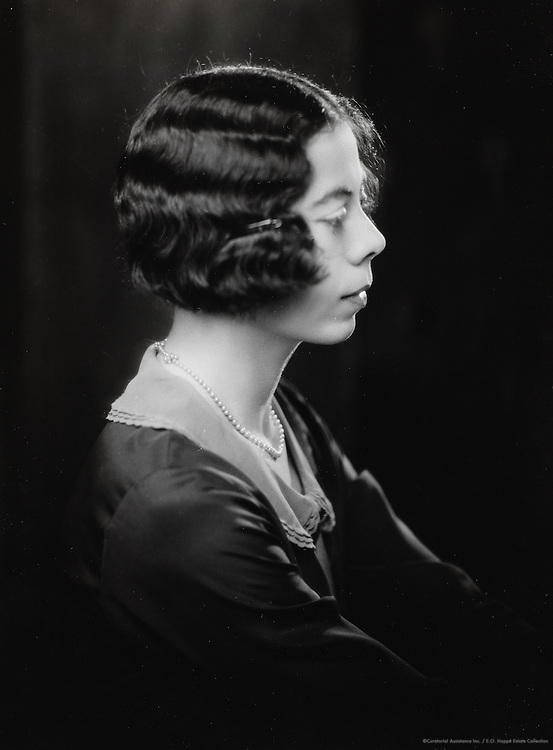 Dorothy de Selincourt, wife of A.A. Milne, England, UK, 1925