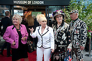 Judith Chalmers; Barbara Windsor;;  attend The Galleries of Modern London launch party at the Museum of London on May 27, 2010 in London. <br />