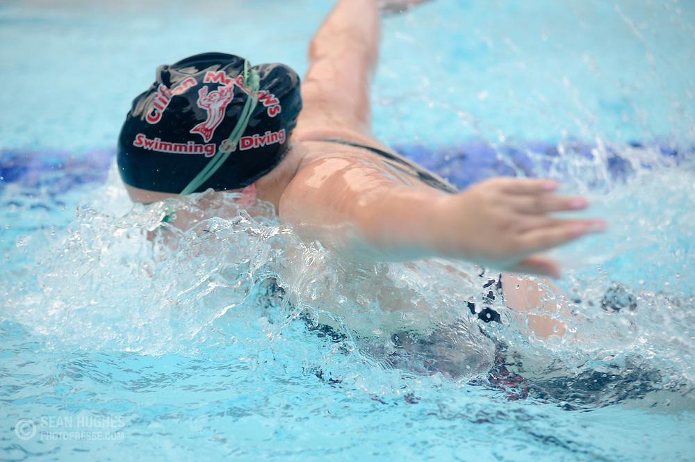 Clifton Meadows swim meet against Oak Hills at Clifton Meadows