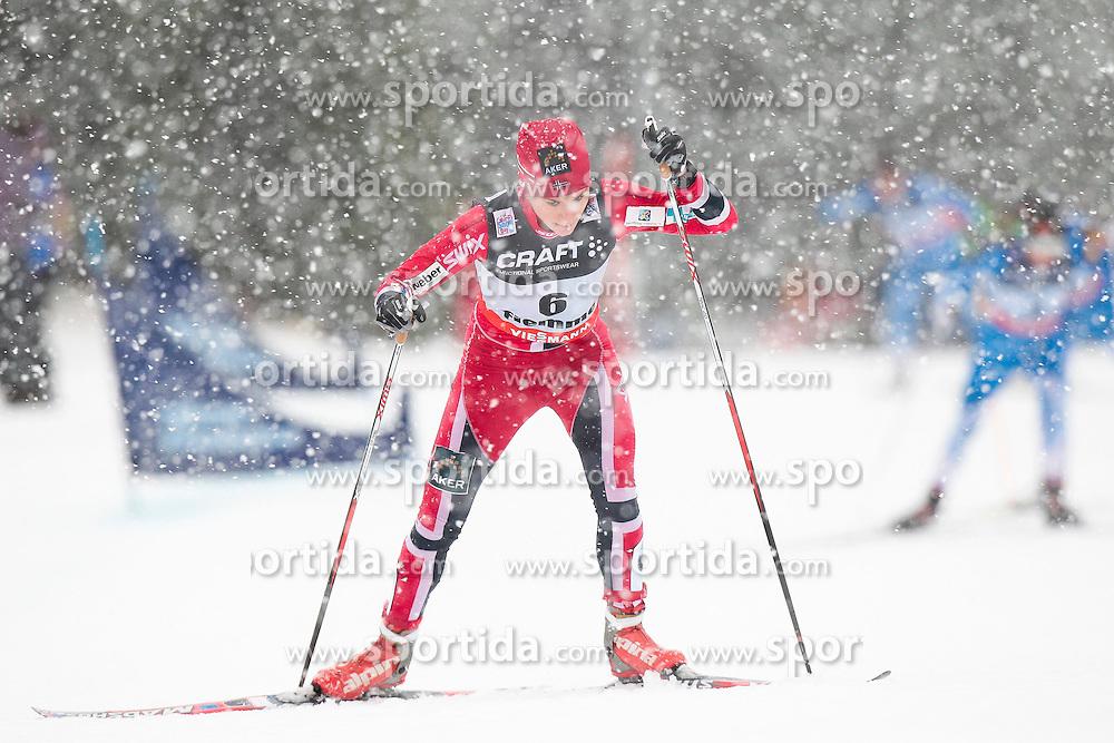 05.01.2014, Alpe Cermis, Cavalese, ITA, FIS Tour de Ski, Langlauf Damen, Individual Start 9 Km, im Bild Weng Heidi (NOR) // during the Ladies 9 km Pursuit Cross Country of the FIS Tour de Ski 2014 at the Cross Country Stadium, Lago di Tesero, Italy on 2014/01/05. EXPA Pictures © 2014, PhotoCredit: EXPA/ Federico Modica