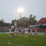 Argentina and Ireland contest a lineout during the Argentina V Ireland group stage match at Estadio El Coloso del Parque, Rosario, Argentina, during the IRB Junior World Championships. 13th June 2010. Photo Tim Clayton...