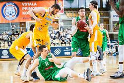 Basketball match between Basketball - KK Petrol Olimpija Ljubljana and KK Sixt Primorska in Round #3 of Liga Nova KBM za prvaka 2018/19, on May 24th, 2019 in Arena Bonifikai, Slovenia Photo by Peter Podobnik / Sportida