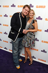 Actress JOANNA PAGE and JAMES CORDON at the 2008 Glamour Women of the Year Awards 2008 held in the Berkeley Square Gardens, London on 3rd June 2008.<br />