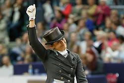 Vilhelmson Silfven Tinne, (SWE), Don Auriello<br /> Grand Prix Freestyle<br /> Reem Acra FEI World Cup Dressage - Goteborg 2016<br /> © Hippo Foto - Dirk Caremans<br /> 27/03/16