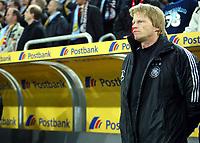 Fotball<br /> Privatlandskamp<br /> Tyskland v Argentina<br /> 9. februar 2005<br /> Foto: Digitalsport<br /> NORWAY ONLY<br /> Oliver KAHN Fu§balltorwart auf der Ersatzbank