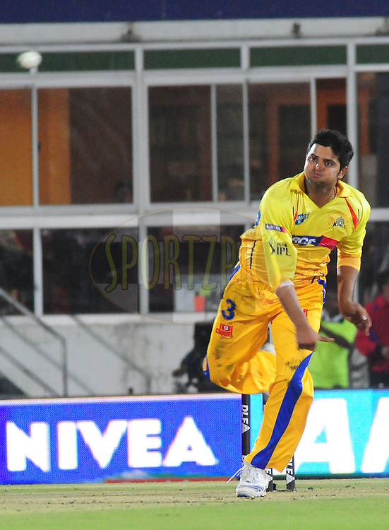 EAST LONDON, SOUTH AFRICA - 4 May 2009.  Raina during the  IPL Season 2 match between the Chennai Superkings and the Deccan Chargers held at Buffalo Park in East London. South Africa...