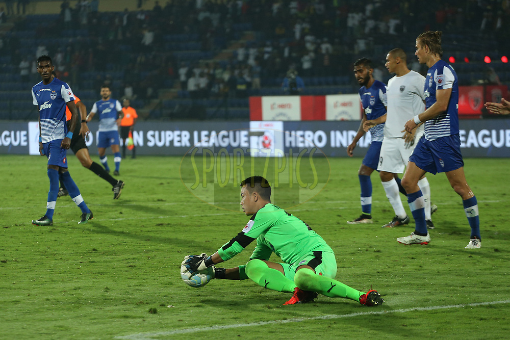 Lathuammawia Ralte of Bengaluru FC during match 19 of the Hero Indian Super League between NorthEast United FC and Bengaluru FC held at the Indira Gandhi Athletic Stadium, Guwahati India on the 8th December 2017<br /> <br /> Photo by: Ron Gaunt / ISL / SPORTZPICS