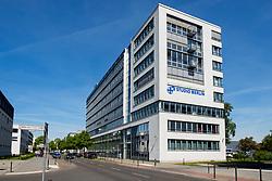 Studio Berlin building in Media area of  Adlershof Science and Technology Park  Park in Berlin, Germany