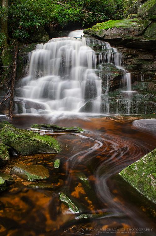 Second Elakala Falls, Blackwater Falls State Park, West Virginia