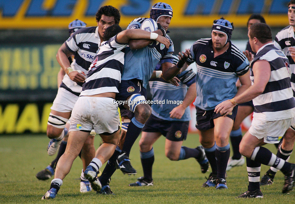 Maseke Davu in action during the NPC first division match between Northland and Auckland at Whangarei, Northland, New Zealand. Saturday 21 August 2004 . Auckland won the game 37-29 <br />PHOTO: Chris Skelton/PHOTOSPORT